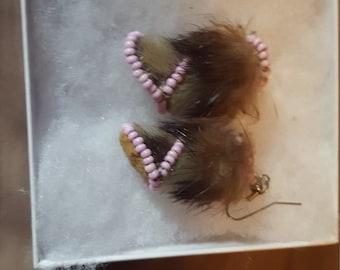 Alaskan Mukluk Earrings