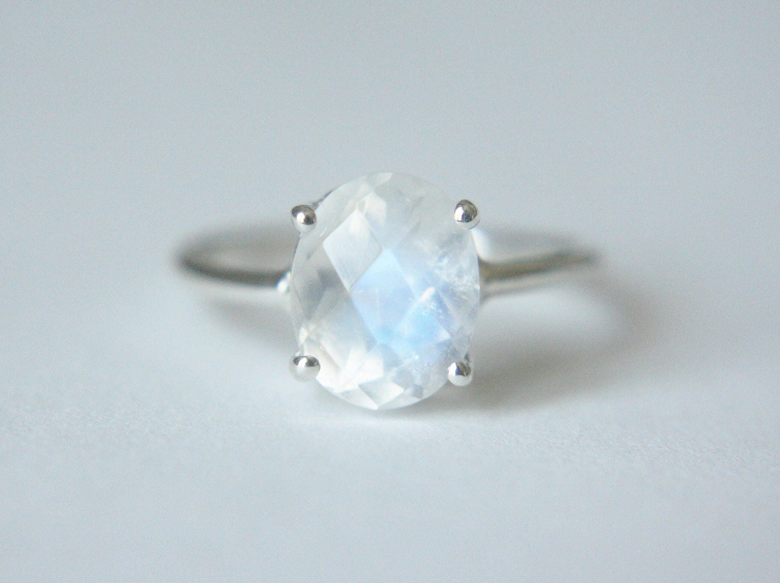 dxzy oval listing ring faceted moonstone fullxfull il rings checkerboard rainbow