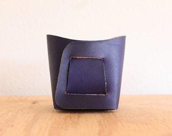 Medium - Leather Bin