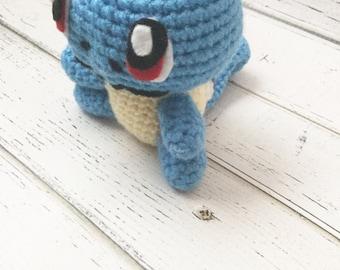 Crochet Pokemon | Pokemon plush | Pokemon go | squirtle plush | Pokemon amigurumi | Crochet Squirtle | Squirtle Plushie | squirtle amigurumi