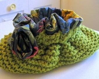 "Pop the Clutch Knitting Pattern for 8"" Flexframe Clutch Purse Knitting Pattern Purse Pattern Knitting Pattern Easy Purse Knitting Pattern"