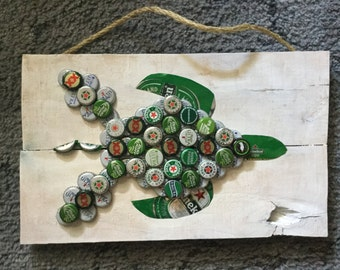 Bottle cap Turtle
