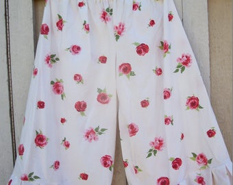 Pink Floral Vintage Upcycled Bloomers