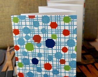 Dots and Lines Chiyogami  Accordion Photo Album - 14 photos