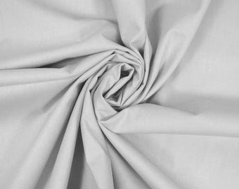 Cotton fabric plain, price is for 50 cm