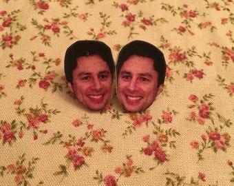 Zach Braff Earrings