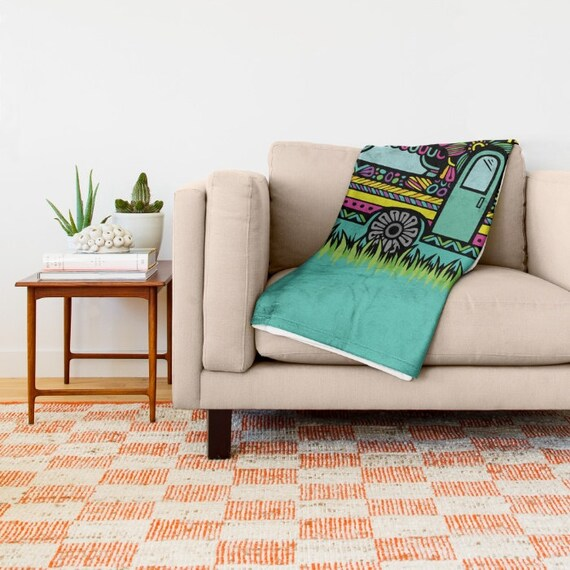 Zentangle - Little Camper Blanket