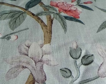 G P & J Baker Fabric 2m Peony and Blossom