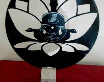 recycled vinyl. Lotus