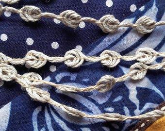 BRAID knots - 90% linen - discount sale price