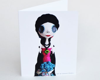 Day of the Dead Art - Blank Note Cards - Dia de los Muertos