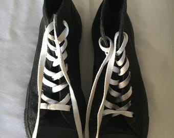 all black vintage converse