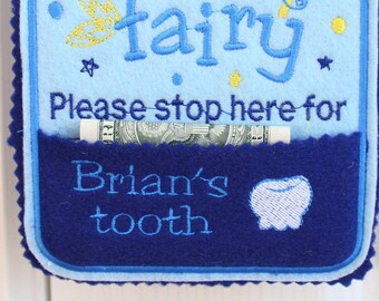 Tooth Fairy hanger girl, Tooth fairy please stop here Door Hanger with Tooth Chart and Pocket, Tooth Fairy Pillow Alternative, girls, TF1