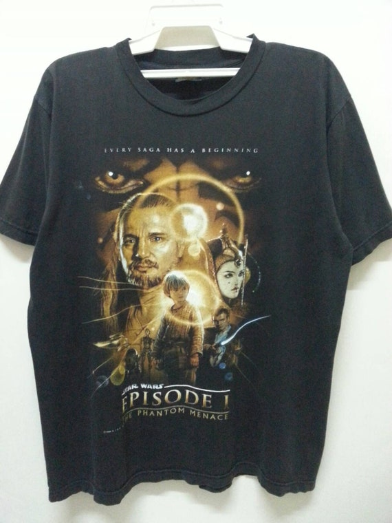 Shirts Episode XLarge Vintage STAR Phantom in 1 90s Made WARS Usa T Size The Manace vYqgtAqw