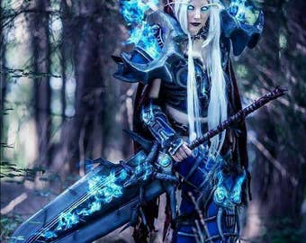 World of warcraft death knight armor for woman or man