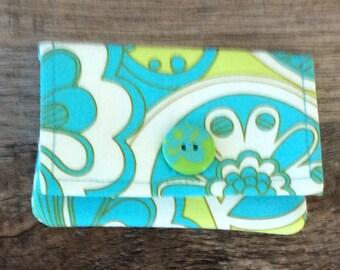 Lovely Floral Pocket Wallet