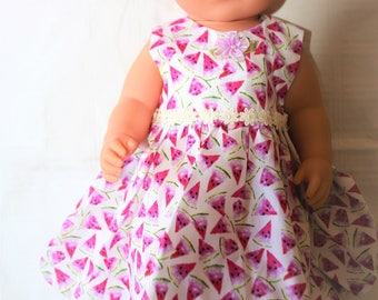 Handmade Dolls dress and cardigan