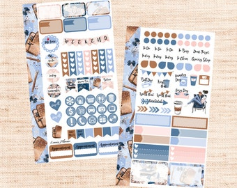 Planner Girl PERSONAL Kit (matte planner sticker, Filofax, Kikki K, Websters Pages, Color Crush)