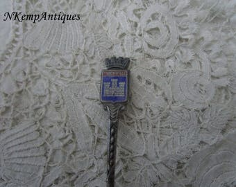 French enamel spoon for the collector