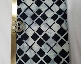 Black and Gray Clutch Wallet