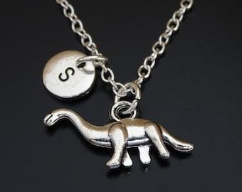 Brachiosaurus Necklace, Brachiosaurus Charm, Brachiosaurus Pendant, Brachiosaurus Jewelry, Dinosaur Necklace, Dinosaur Charm, Dinosaur Gifts