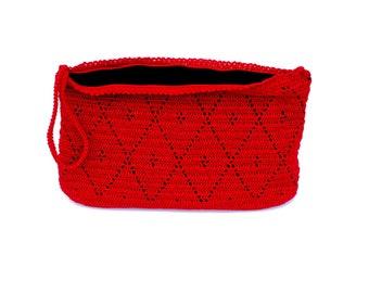 Melina Crochet Wristlet