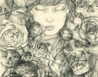 Briar Rose and Her Suitors - Print