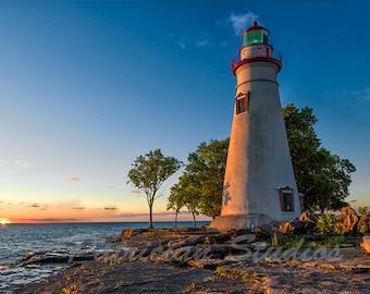 Marblehead Lighthouse Sunrise, Lake Erie