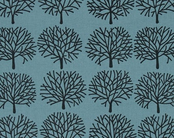 A Ghastlie Forest  Freezing Blue ~ The Ghastlies, Alexander Henry Cotton Quilt Fabric
