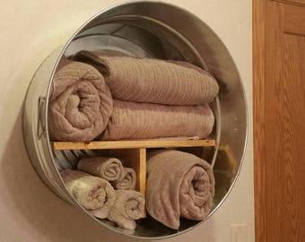 Galvanized Wash Tub Etsy