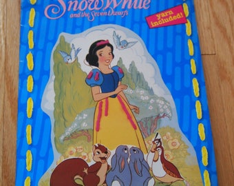 Snow White and the Seven Dwarfs Lace-Ups Activity Book
