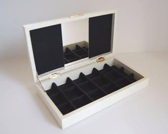 Vintage Jewelry Box, Tundra Japan Jewelry Box
