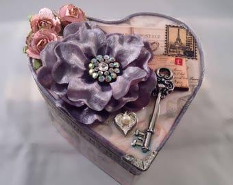 Paris Heart box