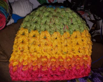 Crochet Winter Hat - Regular or Ponytail versions available!