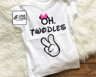 oh twodles, two year old shirt, i'm two lets party, 2nd birthday, raglan, two year old birthday shirt, girls birthday shirt, girl shirts,