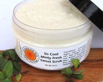 Minty Sweet Sugar Scrub - Body Polish