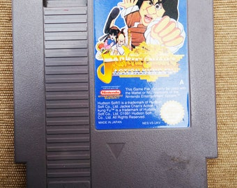 Jackie Chan's Action Kung Fu cartridge - Nintendo NES video game - PAL