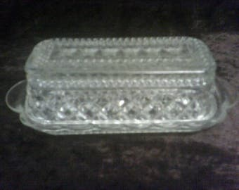 Butter Dish Anchor Hocking Wexford