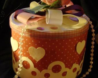 Shabby Chic Keepsake or Gift Box