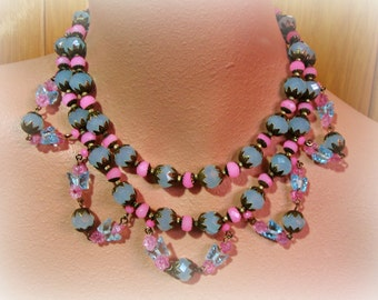 DOLCE statement necklace