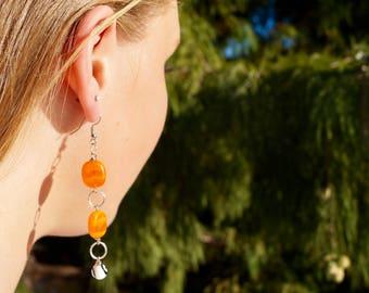 OKState dangle earrings