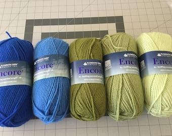 Plymouth Yarn - ENCORE - worsted weight Acrylic/Wool yarn