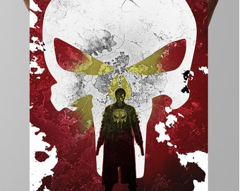 Frank Castle, Punisher, Wall Art, Comics, Marvel Universe