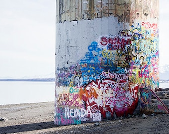 Travel Photography - Alaska - Photography - Water Tower - Artwork - Home Decor - Photo - Wall Art - Fine Art Photography - Javen Print