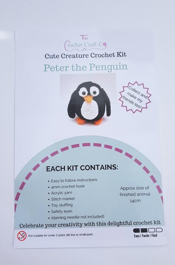 Machen Sie häkeln-Bausatz Ihre eigenen häkeln Pinguin