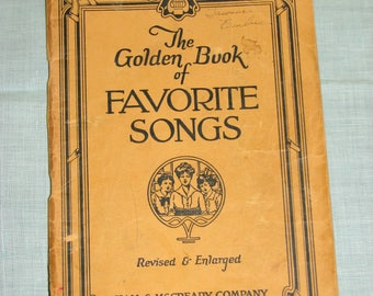 The Golden Book of Favorite Songs