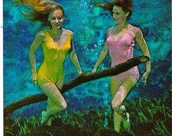 Weeki Wachee Spring Florida 1947 Vintage Photo SKU 0191