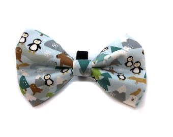 Bow Tie for Dog Collar Cold Weather Friends