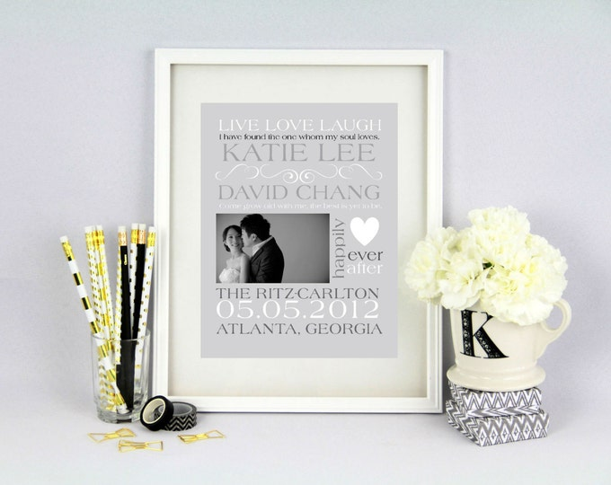 Wedding Announcement Customizable Word Art