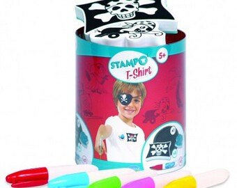 Stamps to print mold t-shirt best pirate